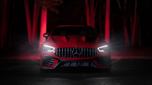 Mercedes Mercedes Amg Gt 63 S Red Car 5120x2880 Wallpaper