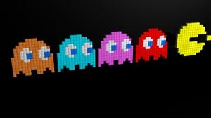 Video Game Pac Man 1920x1200 Wallpaper
