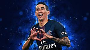 Argentinian Paris Saint Germain F C Soccer Angel Di Maria 2880x1800 Wallpaper