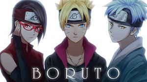 Boruto Uzumaki Mitsuki Naruto Naruto Sarada Uchiha 1334x768 Wallpaper