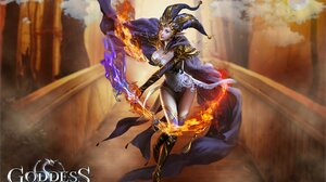 Goddess Primal Chaos Video Games PC Gaming Video Game Girls Fantasy Art Fantasy Girl Pointy Ears Mag 1920x1280 Wallpaper
