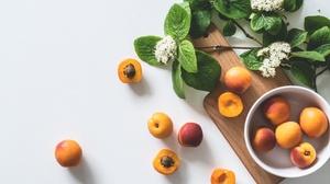Apricot Fruit Still Life 6000x4000 Wallpaper