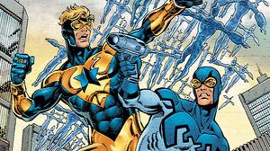 Booster Gold Blue Beetle DC Comics DC Comics 1920x1080 Wallpaper
