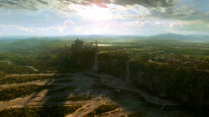 Castle Green Background Naboo 2400x1350 Wallpaper