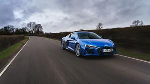 Audi R8 Audi Car Blue Car Sport Car Supercar 3500x2333 Wallpaper