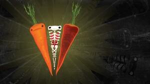 Carrot Skeleton Humor Artwork Orange 1920x1200 Wallpaper