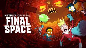 Final Space Cartoon Series Netflix Adult Swim TV Series Humor 2018 Year Netflix TV Series Gary Goods 2048x1152 Wallpaper