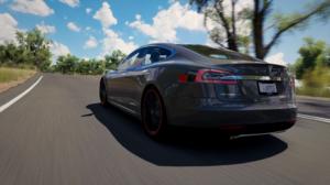 Forza Horizon 3 Racing Road Tesla Model S 1920x1080 Wallpaper