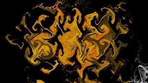 Abstract Artistic Digital Art Gold 1920x1080 Wallpaper