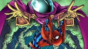 Marvel Comics Spider Man Mysterio Marvel Comics 1920x1466 Wallpaper
