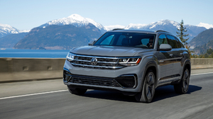 Car Suv Silver Car Vehicle Volkswagen Volkswagen Atlas 1920x1080 Wallpaper