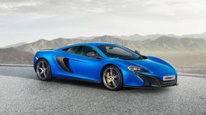 McLaren 650S Vehicle Car Blue Cars 3840x2160 Wallpaper