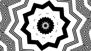 Black Geometry Shapes Symmetry 1920x1080 Wallpaper