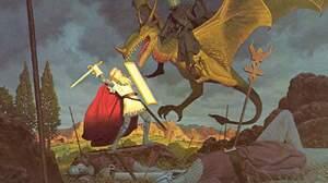 Fantasy Dragon 1300x947 Wallpaper