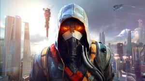 Futuristic Video Games Killzone Killzone Shadow Fall Video Game Art 1366x768 Wallpaper