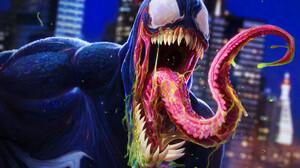 Dan Luvisi Artwork Creature Venom ArtStation 1920x1352 wallpaper