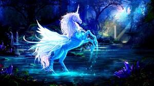 Fantasy Pegasus 2560x1440 Wallpaper