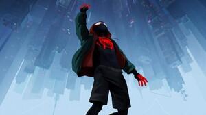 Miles Morales Spider Man Spider Man Into The Spider Verse 3840x2160 Wallpaper