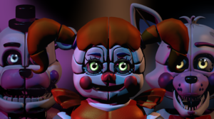 Video Game Five Nights At Freddy 039 S Sister Location 2880x1620 wallpaper