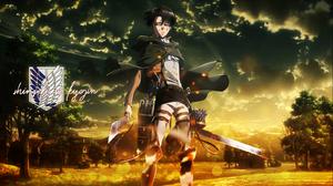 Shingeki No Kyojin Levi Ackerman 1600x900 Wallpaper