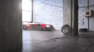 3d Bmw Car Concept Car Sport Car Vehicle 5000x2800 Wallpaper