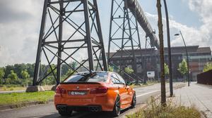 Car BMW Orange Cars Vehicle Street 4096x2731 Wallpaper