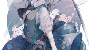 Anime Girls Anime Touhou Umemaro Konpaku Youmu 5159x7285 Wallpaper