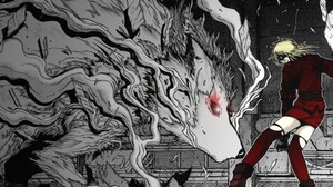 Anime Hellsing Seras Seras Victoria 1024x768 Wallpaper