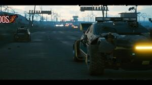 Cyberpunk 2077 Ultrawide Aldecaldos Highway Desert Cyberpunk Screen Shot 5120x1440 wallpaper