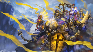 Barbarian Diablo Iii Crusader Diablo Iii Demon Hunter Diablo Iii Diablo Iii Reaper Of Souls Monk Dia 3404x2000 Wallpaper