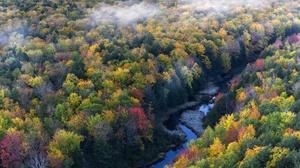 Nature Fall Foliage River 2048x1365 Wallpaper