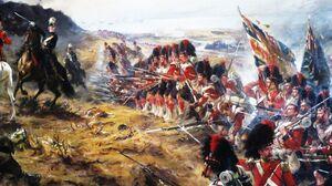 British Army Waterloo Military Artwork War Soldier 1280x960 Wallpaper