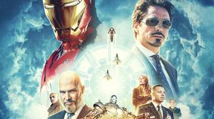 Iron Man Marvel Comics Pepper Potts Tony Stark 1920x1475 Wallpaper