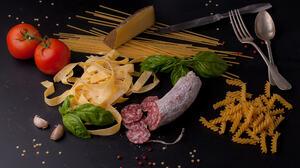 Meat Pasta Still Life Tomato 2048x1371 Wallpaper