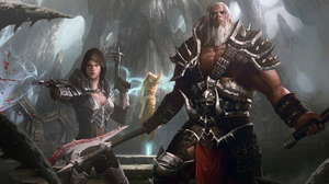 Barbarian Diablo Iii Demon Hunter Diablo Iii Diablo Iii 5000x3280 Wallpaper