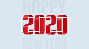 Happy New Year New Year New Year 2020 3840x2337 Wallpaper