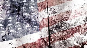 American Flag Burning Flag 1600x1200 Wallpaper