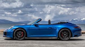 Porsche 911 Carrera Gts Sport Car Cabriolet Blue Car Car 1920x1080 Wallpaper