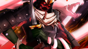 Demon Samurai Sword 2300x1800 Wallpaper