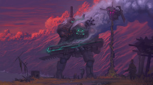 Robot Weapon 4200x2550 wallpaper