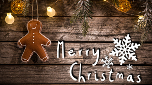 Christmas Cookie Gingerbread Merry Christmas 4935x3382 Wallpaper