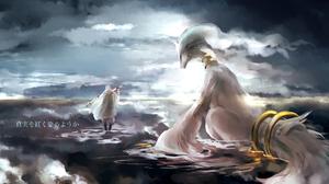 Anime Tsurumaru Kuninaga Touken Ranbu Reshiram Pokemon 1920x1200 Wallpaper