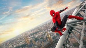 Spider Man Cityscape 6152x4654 wallpaper