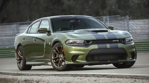 Dodge Dodge Charger Muscle Car Green Car 3000x1624 wallpaper