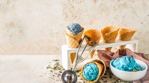 Ice Cream Still Life Waffle Cone 7230x4825 Wallpaper