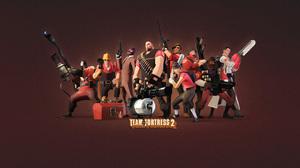 Team Fortress 2 Pyro Team Fortress Engineer Team Fortress Spy Team Fortress Heavy Team Fortress Scou 1280x1024 Wallpaper