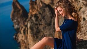 Girl Mood Rock Dress 2560x1703 wallpaper