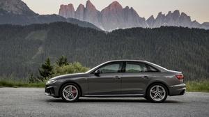 Audi Audi A4 Car Luxury Car Silver Car Vehicle 4096x2732 Wallpaper