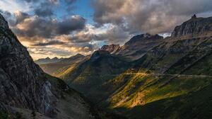 Mountains Landscape USA Montana 7952x4206 Wallpaper