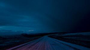 Landscape Night Road Sky Dark 2800x1869 Wallpaper